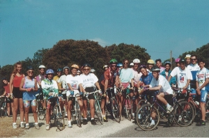 Una delle prime cicloturistiche in Sardegna